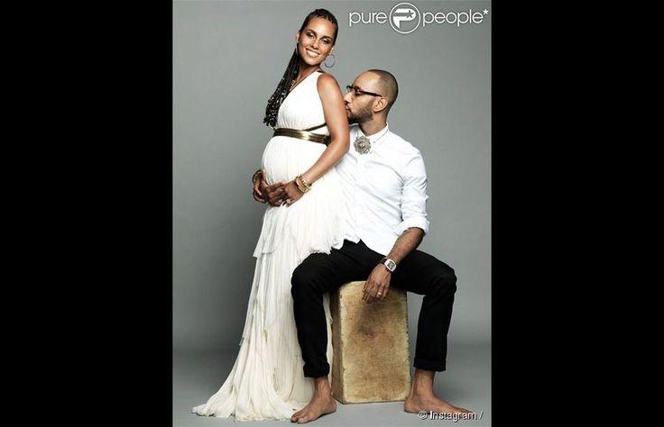 Alicia Keys et Swizz Beatz attendent leur deuxième enfant. Le couple a annoncé l'heureuse nouvelle à l'occasion de ses ...