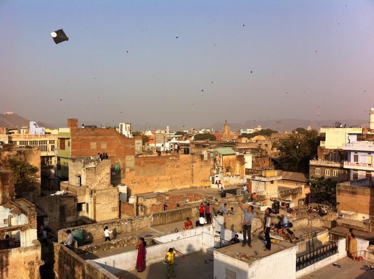 makar sankranti (kyte festival) - jaipur, india