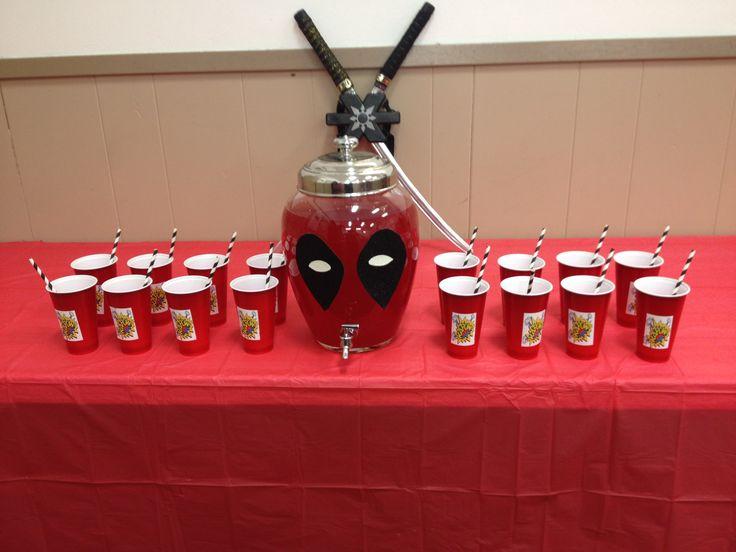 Deadpool punch bowl