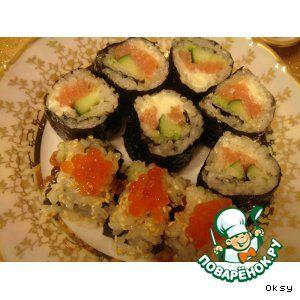 Японские роллы, или маки-суши в домашних условиях