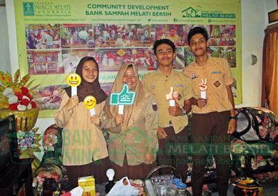 Bank Sampah Melati Bersih: Kunjungan Tamu dari Siswa SMAN 9 Tangerang Selatan...