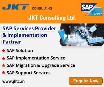 SAP Implementation Services in India - JKT Consulting has proven capabilities of providing SAP implementation and enhanced functionalists in India. You can contact us for growth of your business. Visit: