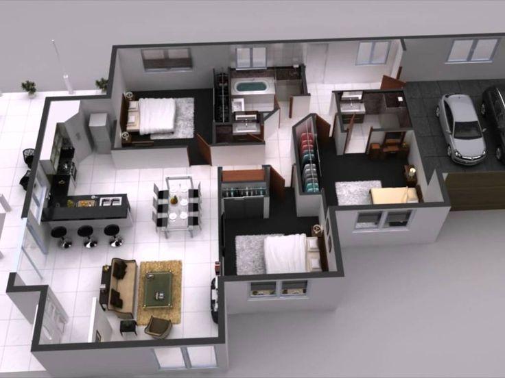 18 best 3d floor plan images on pinterest   architecture, floor