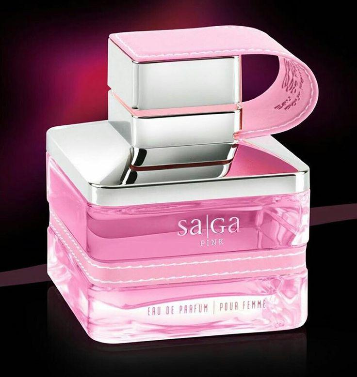 Emper Saga Pink for Women       Edp 100 ml. Fruity Notes, Rose & Vanilla.