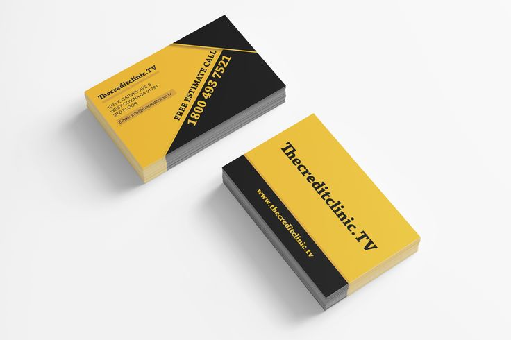 The Credit Clinic  - business card