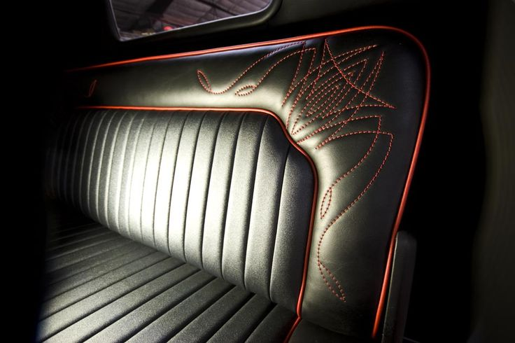 Drool-Worthy Upholstery.