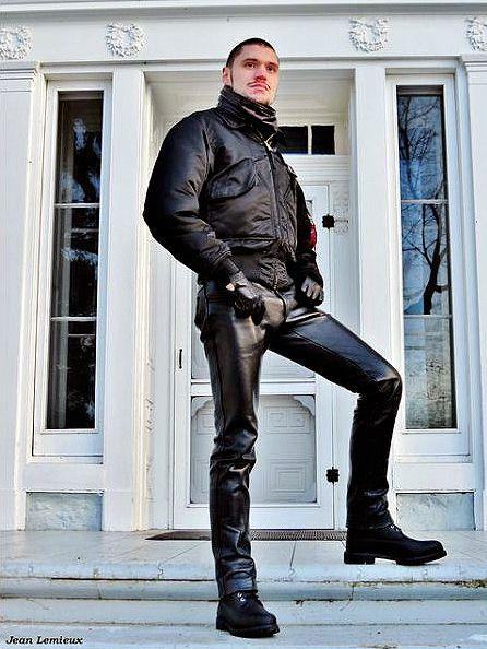 Random Leather gLoves fetish