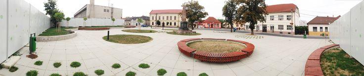 www.archholiks.sk - centrálna časť obce Jesenské