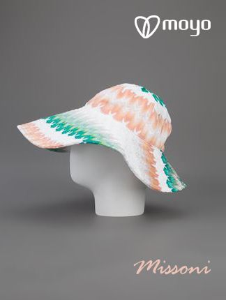 Today is the #hat day!!! and we continued on #Missoni mode, see the products of this brand www.moyoconcept.com