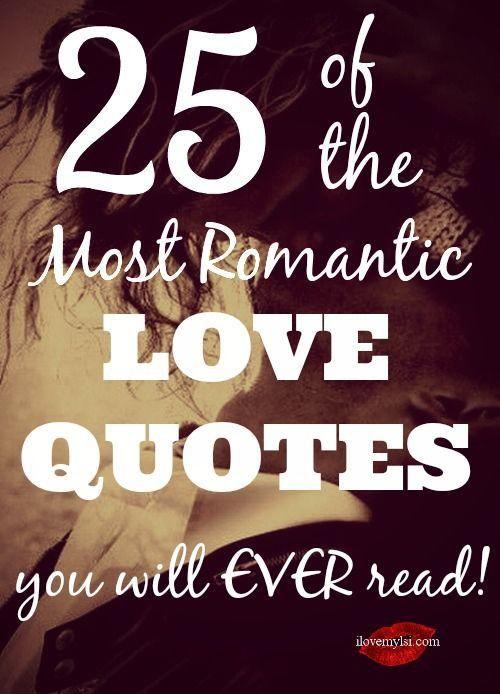 25 Beautiful Love Quotes: Best 25+ Romantic Love Ideas On Pinterest