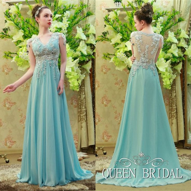 2017 Real Sample  Beading Sexy Long dresses evening arabic dress evening Custom Made RS45
