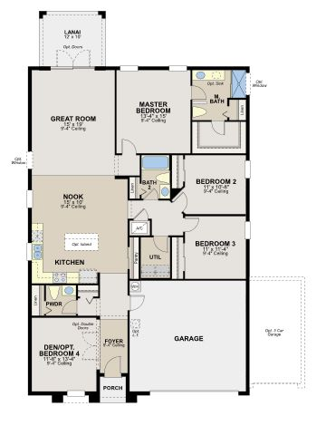 1000 images about floor plans on pinterest capri home for Ryland home plans