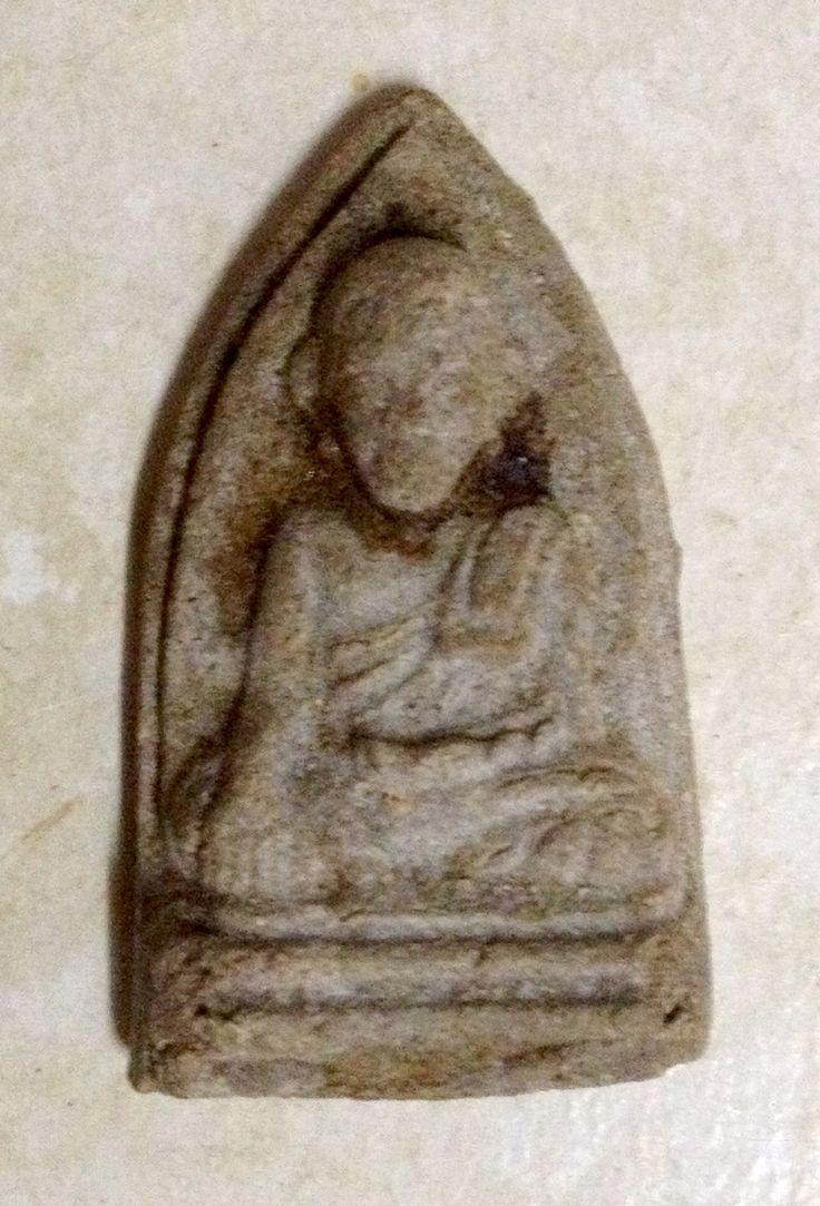 พระครูวิบูลย์สมณวัตร (หลวงพ่อทวดนวล) เนื้อว่าน รุ่นเสาร์ 5 วัดตุยง ปัตตานี สร้างปี 2507