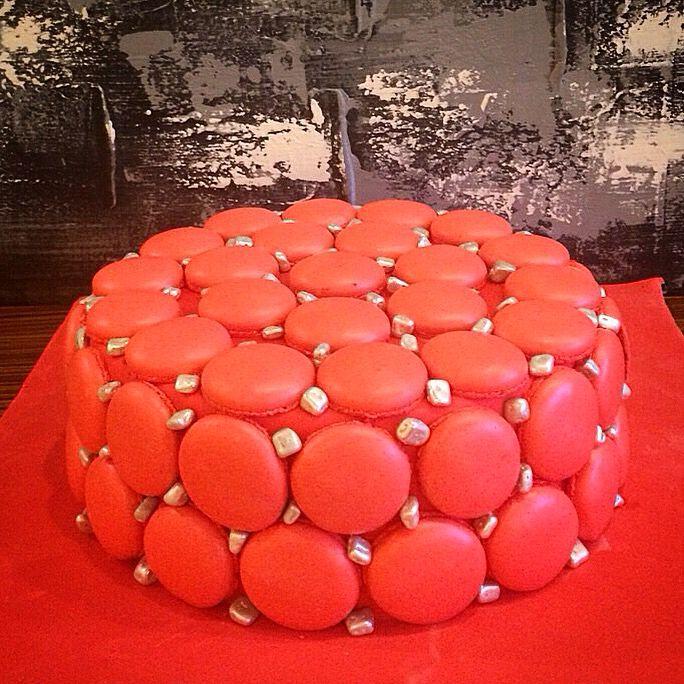 Macaron cake Pileki