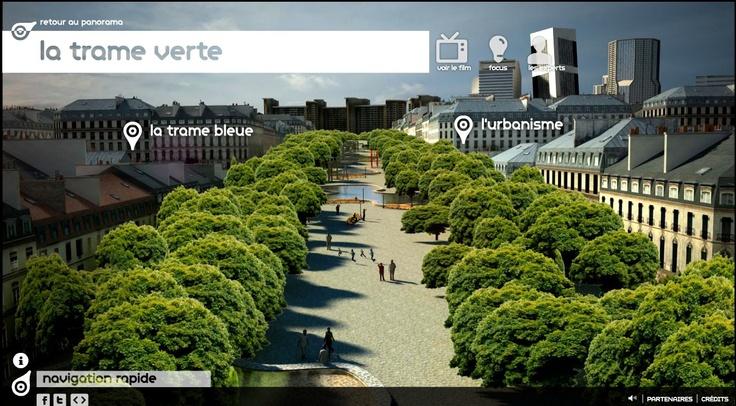 Harmonie urbaine : une ville nature, une ville idéale | Un Webdocumentaire Natureparif