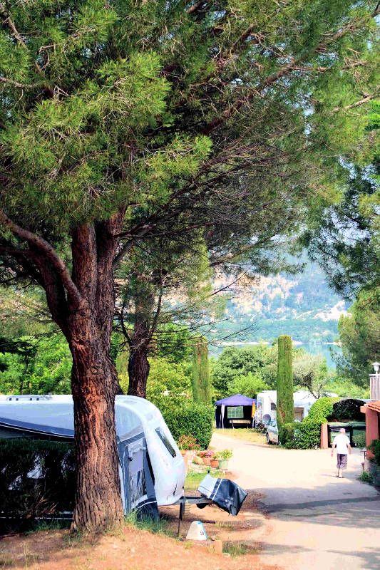 Camping les Pins, Les Salles sur Verdon