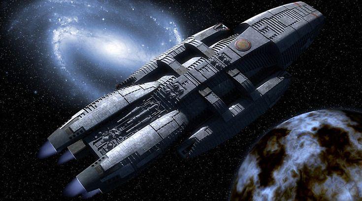 Звездный крейсер «Галактика» из одноименных фильмов и сериала