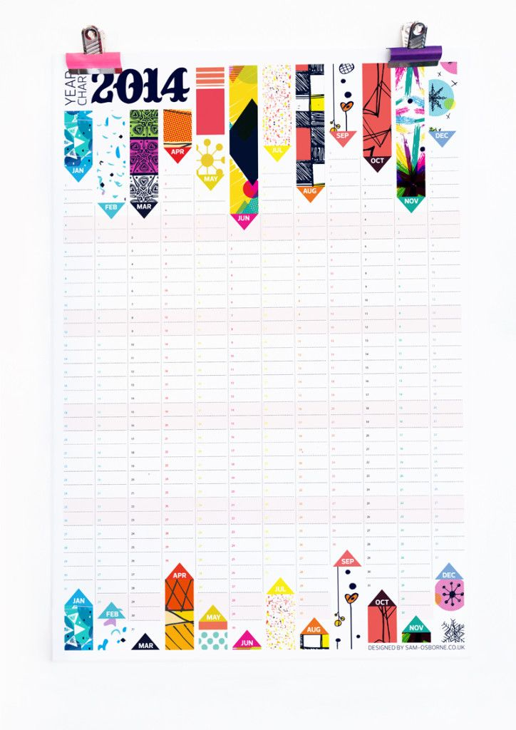 11 Best Cool Calendars Images On Pinterest Calendar Calendar