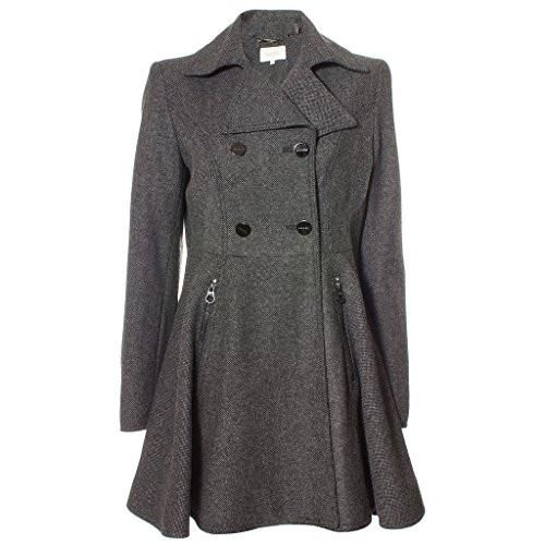 Laundry by Shelli Segal Women's Double Breasted Button Front Wool Coat