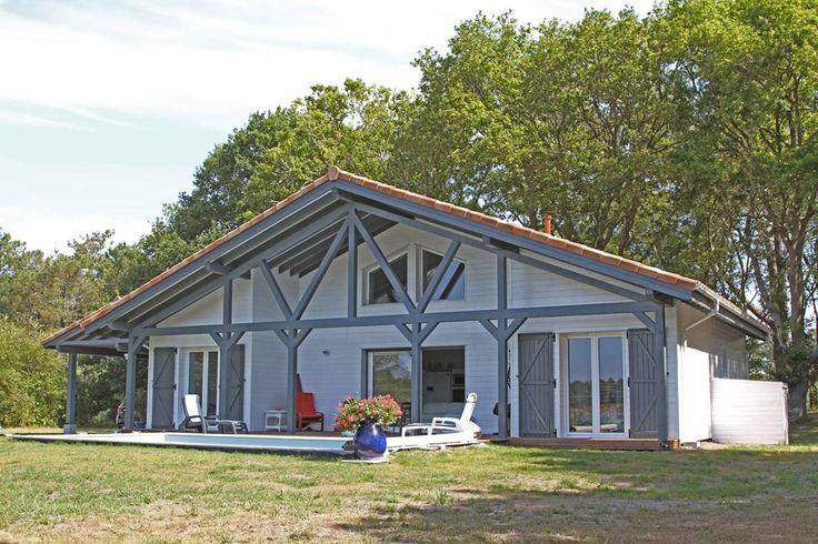 Extension de maison en bois dans les Landes (40) Camif Habitat