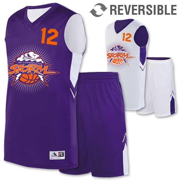 ba70e9db9 Alley-Oop Basketball Uniform - Reversible Jersey   Shorts ...