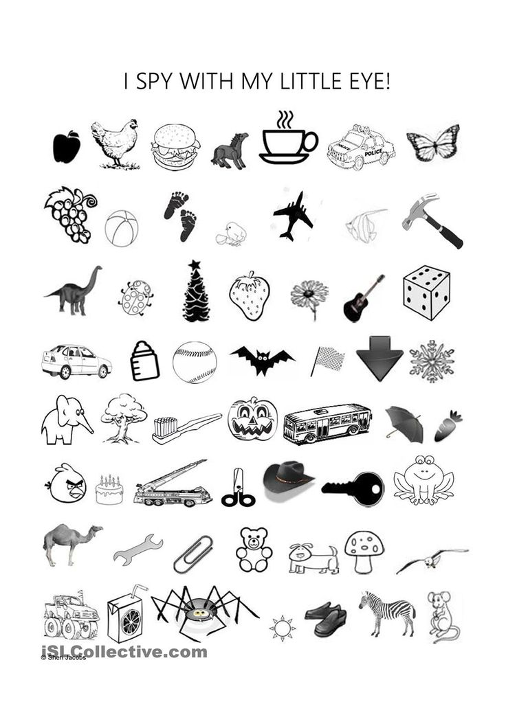 This is an image of Peaceful I Spy Printable Worksheets