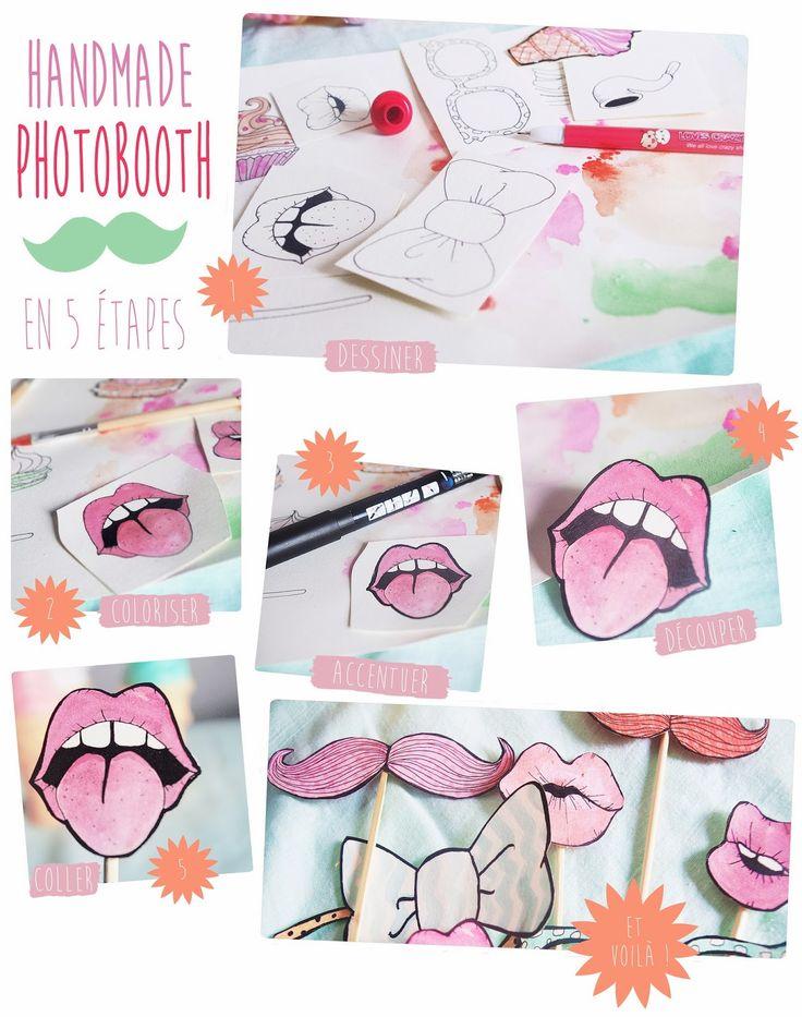 Chez cette fille: Handmade Photobooth ! DIY inside... …