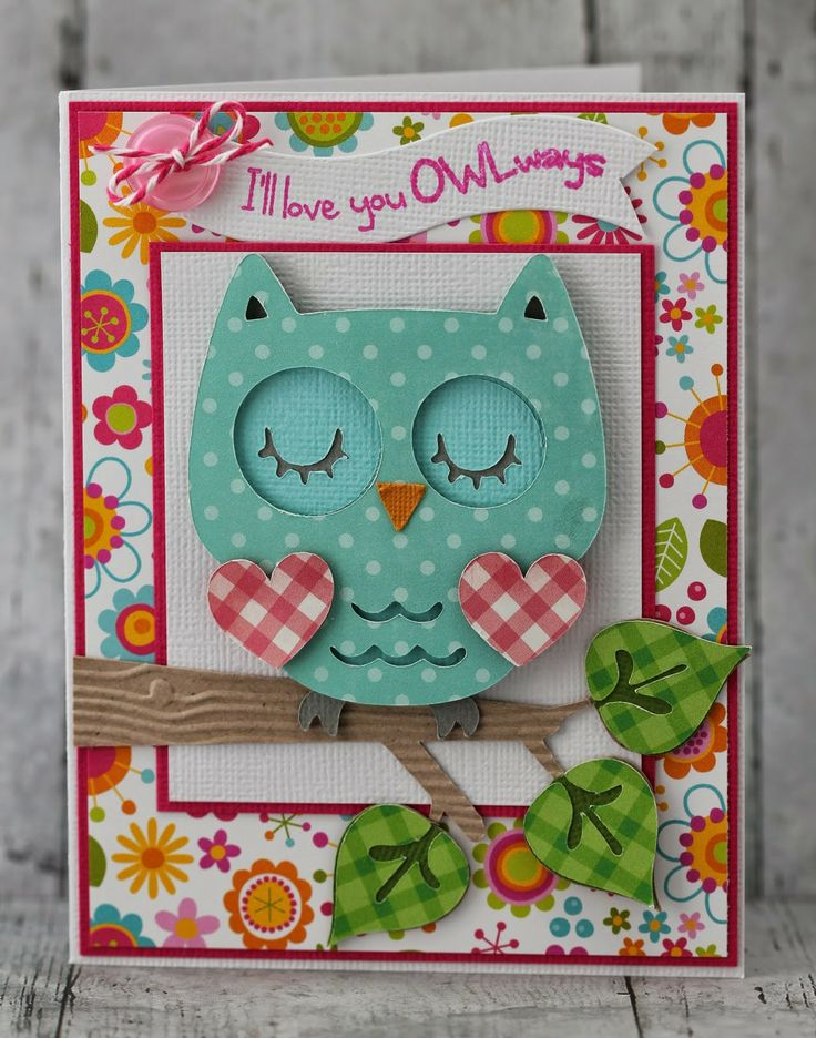 My Craft Spot: DT Post by Gwen - Adorable Owl!