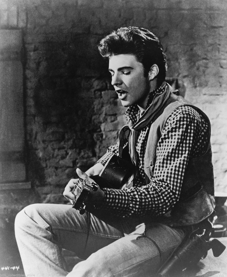 "Ricky Nelson as Colorado in Howard Hawks' ""Rio Bravo"" (1959)."