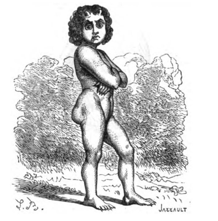 Lucifer by Louis Le Breton, from Dictionnaire Infernale by Collin de Plancy.  Later used in Mathers' The Lesser Key of Solomon. Oh Lucifer, those butt implants did not work out the way you intended, did they?
