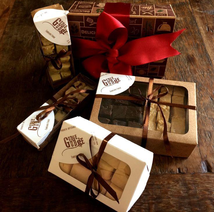 Natal Chegando!!!  A caixa de Fudge é o melhor presente!  Amo Gudge Gudge