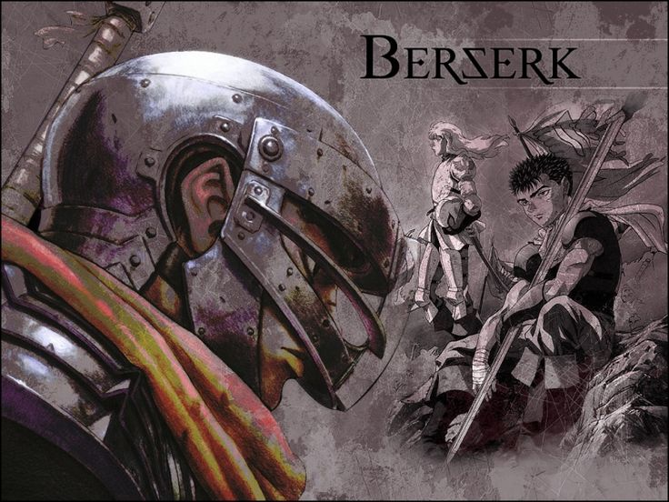 Dark, dramatic, emotional. Berserk took me by storm. Not for younguns!  A team of mercenaries: the brave Guts, tortured leader Griffith, and loyal Casca are unparalleled in their ability to fight. One will usher forth an unspeakable terror upon the world.  Soon - Berserk: The Golden Age Arc! All  you fellow Berserk nutcases get ready! http://www.intunedonline.net/berserk-returns-3-planned-anime-movies-2012/