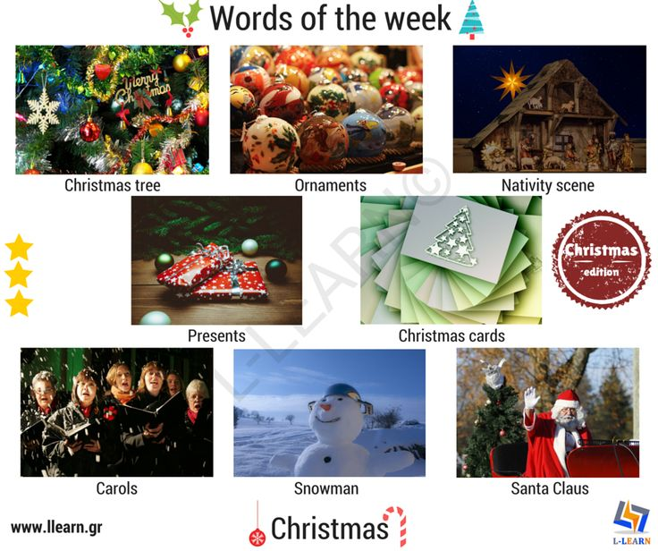 Christmas.  #Αγγλικά #αγγλικές #λέξεις #αγγλική #γλώσσα #λεξιλόγιο #English #english #words #english #language #vocabulary #LLEARN