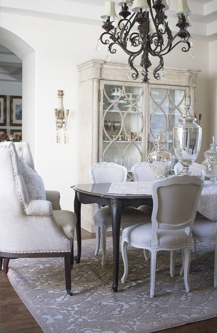 why you should use your dining room - elegant neutral dining room tour
