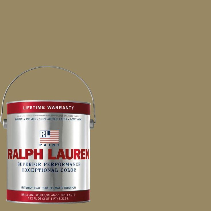 Olmstead Green Flat Interior Paint Rl1268f The Home