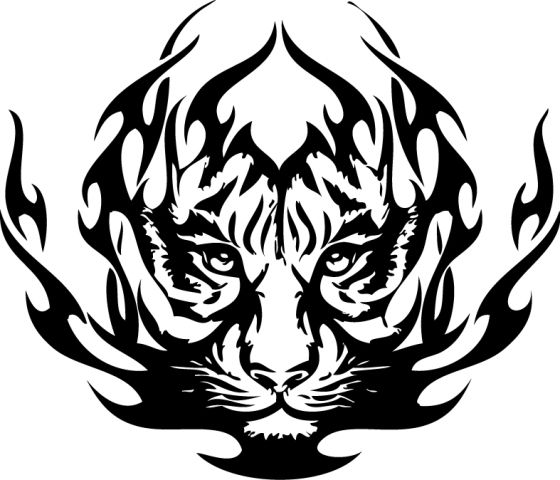Tiger Wall Decal | DecalMyWall.com