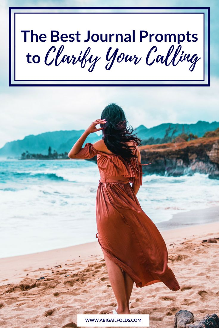 Whether you're trying to get clear on your life calling, your seasonal calling, or even a situational calling, these journal prompts will help you stop chasing your tail and start getting clear on what you're being called to do.