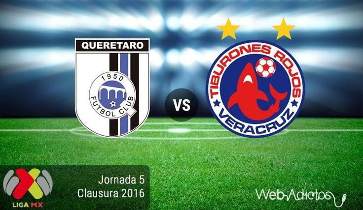 Querétaro vs Veracruz, Fecha 5 del Clausura 2016 ¡En vivo por internet! - https://webadictos.com/2016/02/05/queretaro-vs-veracruz-clausura-2016/?utm_source=PN&utm_medium=Pinterest&utm_campaign=PN%2Bposts