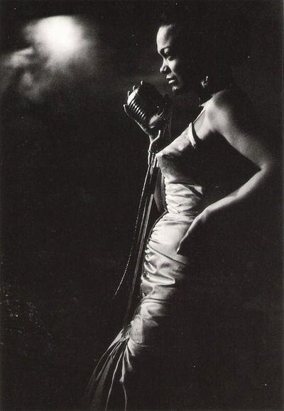 Ernst Haas - Ertha Kitt, NYC, 1952