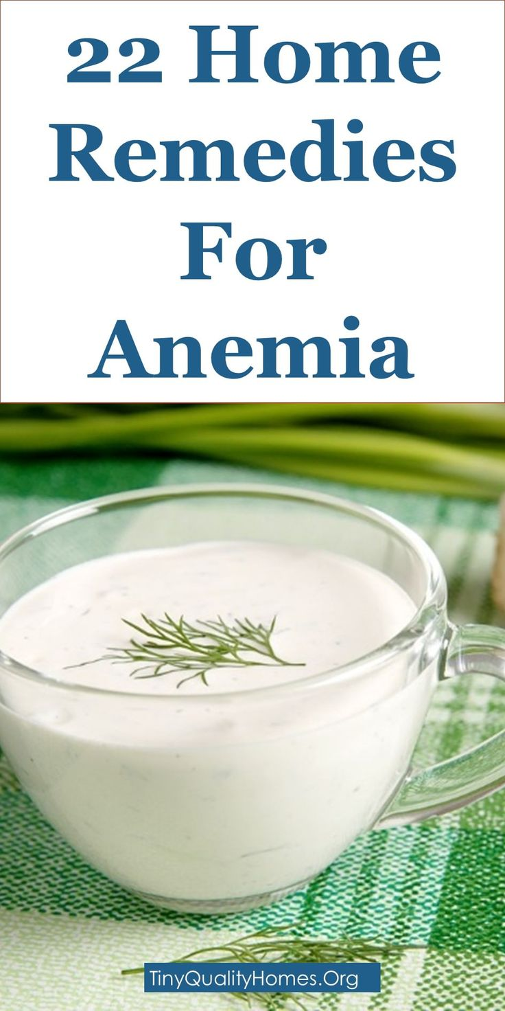 how to get rid of anemia in a week