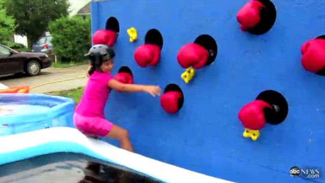 kids wipeout course - Google Search