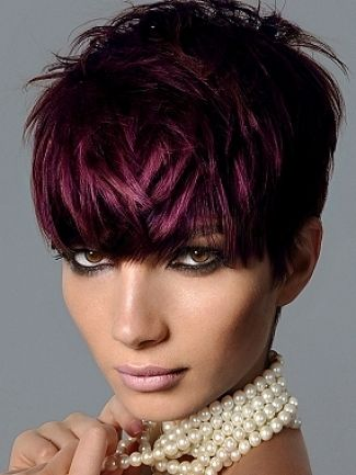 Purple pixie cut - Google Search
