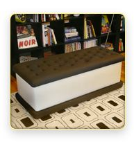 My ice cream shoppe bench :)