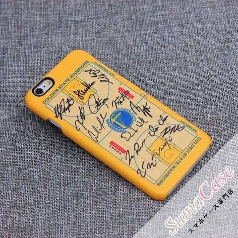 NBA(エヌビーエー)iPhone7 ケース ホームアリーナ オールスター サイン入り スクラブ カバー型 PCハードケース for iPhone8 iPhone7S iPhone6S/6 Plus カバー