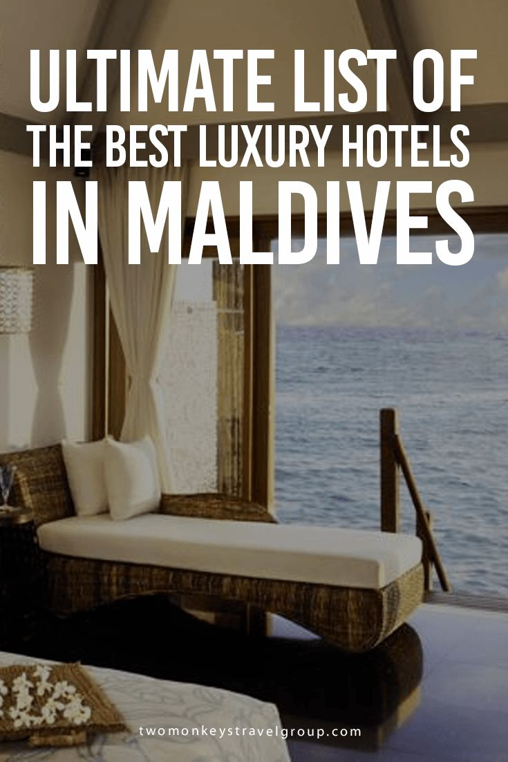 Ultimate List of the Best Luxury Hotels in Maldives In this article, you will find the following – Best luxury hotels in Male; Best luxury hotels in Maafushi; Best luxury hotels in Hulhumale; Best luxury hotels in Thulusdhoo; Best luxury hotels in Gulhi; Best luxury hotels in Ghuraidhoo; Best luxury hotels in Dharavandhoo; and Best luxury hotels in Rasdu.