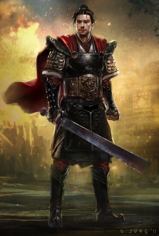 Asian Warrior by Steve Jung