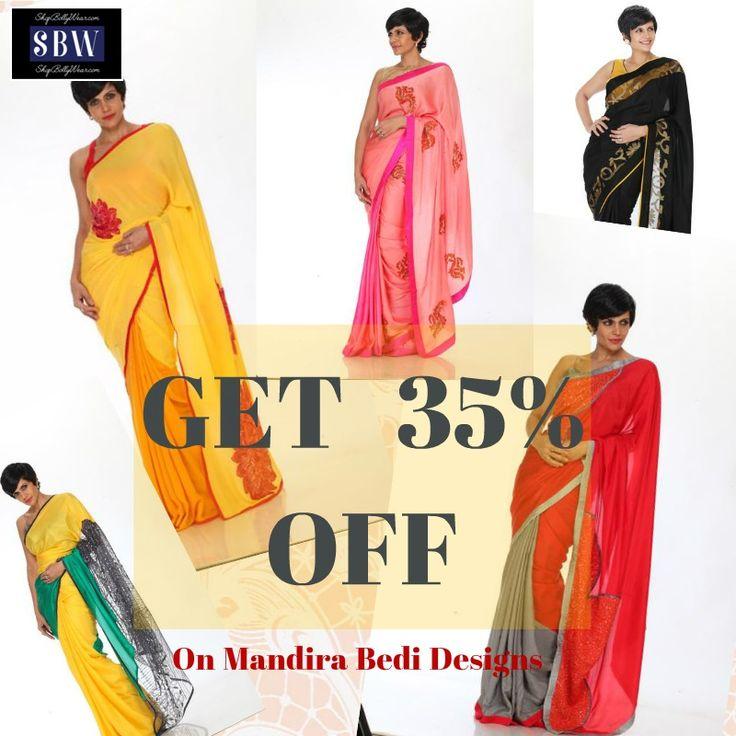 17 Best Images About Mandira Bedi Designer Sarees On