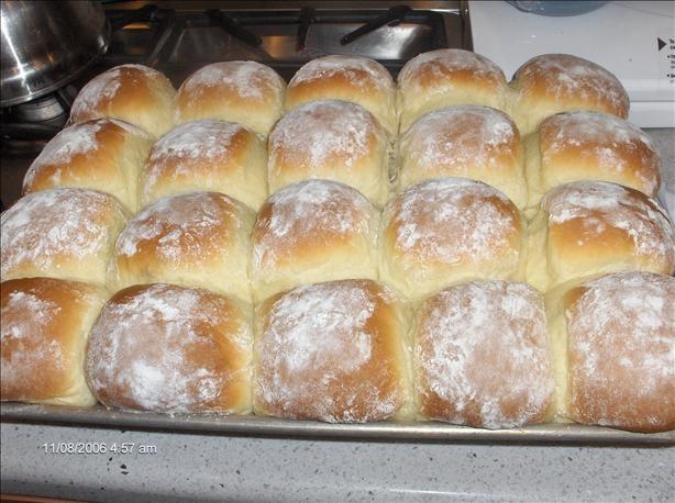 Amish Potato Rolls. Photo by startnover
