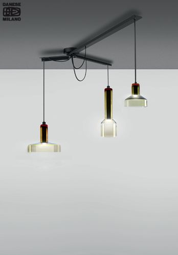 Discover these incredible glass suspensions: ‪#‎StabLight‬ Danese Milano range. ‪#‎design‬ Arik Levy design ►http://bit.ly/StabLight