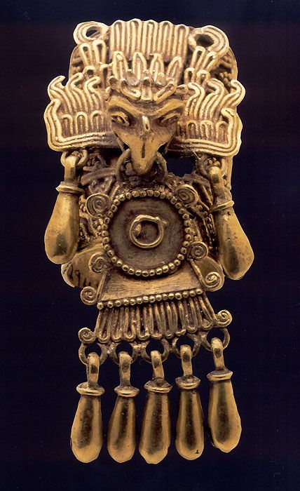 Ring |  Aztec Jewelry included in the Mesoamerican Mexican Aztec (Mexica) Gold Exhibition.